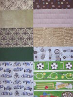 9 x Masculine A5 Card & Paper Sheets For Cardmaking & Scrapbooking