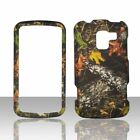 Camo Stem LG Enlighten VS700 Verizon Case Cover Hard Snap on