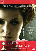 The House Of Mirth (DVD, 2007)gillian anderson vgc