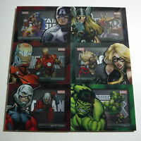 2012 Marvel Greatest Heroes MGH FULL SHADOWBOX SET #S1-S6 of 6. FREE S&H!!!!