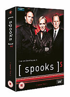Spooks: Complete Fifth Season Series 5 (5-Disc DVD) New & Sealed