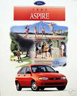 1997 Ford Aspire subcompact new vehicle brochure