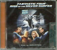 FANTASTIC FOUR RISE OF THE SILVER SURFER SOUNDTRACK CD