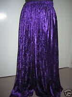 dark purple velvet custom made skirt 10 12 14 16 18 20 22 24 26 28 30 32 34 36
