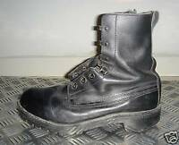 British Army Black Leather Vintage Combat/Assault Boot UK size 8