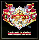 Gordon Solie WWF Wrestling Championship Trivia Game