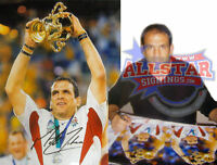 """MARTIN JOHNSON SIGNED ENGLAND 2003 WORLD CUP 16""""x12"""" PHOTOGRAPH SEE PROOF"""