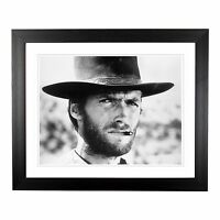 The Good The Bad & The Ugly Clint Eastwood Framed Print