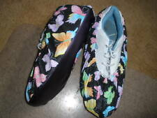 BUTTERFLY GLITTER BOWLING SHOE COVERS-MED, LG OR XL
