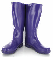 New Womens Purple Wellingtons Boots Wellies Size 4-8