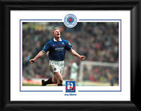 Glasgow Rangers FC 9 in a Row Jorg Albertz Framed Print