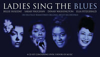 Ladies Sing The Blues - 4 CD Of 1950s 1960s Music Songs