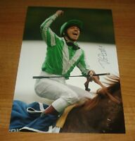 FRANKIE DETTORI SIGNED AUTOGRAPH PHOTO HORSE RACING