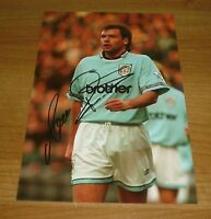 UWE ROSLER HAND SIGNED AUTOGRAPH PHOTO MANCHESTER CITY