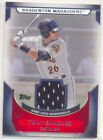 TONY SANCHEZ 2011 TOPPS PRO DEBUT GAME USED JERSEY CARD