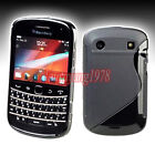 GREY SMOKE S-LINE TPU GEL SKIN CASE COVER for BLACKBERRY BOLD TOUCH 9900 9930