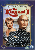 THE KING AND I - FILM MUSICAL DVD - DANCE MUSIC MOVIE - RODGERS AND HAMMERSTEIN