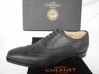 NEW Joseph Cheaney Gunmetal Grey Calf Leather Oxford Lace Up Shoes  UK 7.5 8 F