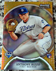 ANTHONY RIZZO 2011 Bowman Sterling GOLD Rookie Card RC 20/50 Chicago Cubs