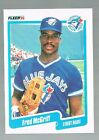 FRED MCGRIFF #89 Blue Jays 1990 Fleer Very Rare Version Printed In Canada