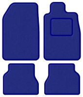 BMW Convertible 3 Series (E36) 93-00 Super Velour Blue/Blue Trim Car mat set