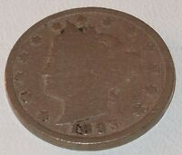 1893 Liberty Head V NICKEL 5 CENTS  Five CENT COIN