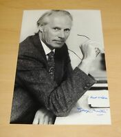 SIR GEORGE MARTIN AUTHENTIC HAND SIGNED AUTOGRAPH 12x8 PHOTO THE BEATLES + COA