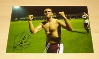 PAOLO DI CANIO AUTHENTIC HAND SIGNED 12x8 AUTOGRAPH PHOTO WEST HAM UNITED + COA