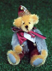 TEDDY BEAR PATTERN COURT JESTER 6.5 IN. TALL JOINTED DESIGN