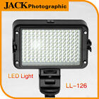 LED-126 Video LED Light Supplement fr DSLR Cameras Canon Panasonic Nikon Pentex