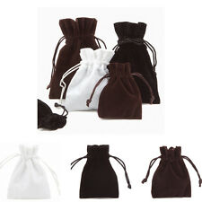THICK & SOFT Luxury Velvet Jewellery Gift Pouches Gift Bags! Printing Available