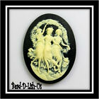 10 ~ 40x30mm Cameo Three Dancing Muses Graces Goth B