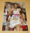 STEVE CRAM GENUINE HAND SIGNED 12x8 AUTOGRAPH PHOTO LA OLYMPIC GAMES 1984 + COA
