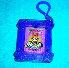 "POWERPUFF GIRLS BUBBLES BLOSSOM BUTTERCUP 2.5"" PLASTIC CLIP ON CARRY CASE"