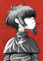 GORILLAZ MUSIC BAND ENGLISH POSTER PICTURE WALL ART PRINT A3 AMK2422