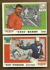 1955 TOPPS ALL AMERICAN FATS HENRY # 100