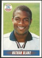 PANINI 1997 - NATIONWIDE LEAGUE #039 - BOLTON WANDERERS - NATHAN BLAKE