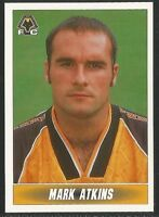 PANINI 1997 - NATIONWIDE LEAGUE #373 - WOLVERHAMPTON WANDERERS - MARK ATKINS