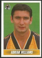 PANINI 1997 - NATIONWIDE LEAGUE #378 - WOLVERHAMPTON WANDERERS - ADRIAN WILLIAMS