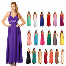 New Formal Long Evening Ball Gown Party Prom Bridesmaid Dresses Stock Size 6-26