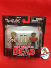 """The Walking Dead Minimates Sailor Zombie and """"Cute"""" Zombie by Diamond Select"""