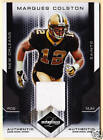 LEAF LIMITED MARQUES COLSTON GAME WORN JERSEY #001/100 - NEW ORLEANS SAINTS #1