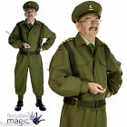 HOME GUARD DAD'S ARMY WW2 ARMED FORCES 1940s FANCY DRESS SOLDIER COSTUME UNIFORM