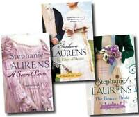 Stephanie Laurens 3 Books Set Collection (Edge of Desire, Brazen Bride, Secret)
