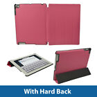 Pink PU Leather Case for Apple iPad 2, 3 & New 4 with Retina Display Smart Cover