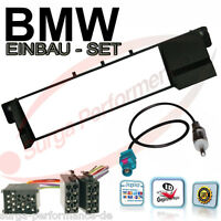 Radio Blende Rahmen BMW 3er E46 Radioblende Radioadapter ISO Antennen Adapter