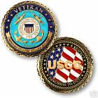 UNITED STATES COAST GUARD VETERAN HONOR RESPECT DEVOTED TO DUTY COIN 60584
