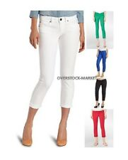 NEW WOMEN'S CALVIN KLEIN POWER STRETCH SKINNY CROP JEANS VARIETY SIZES & COLORS