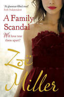 A Family Scandal, Miller, Zoe, Very Good condition, Book