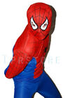 kid spiderman outfit costume 3 4 5 6 7 years old size S M L 105-125cm P11